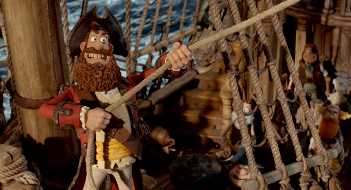 Pirate Captain from Pirates